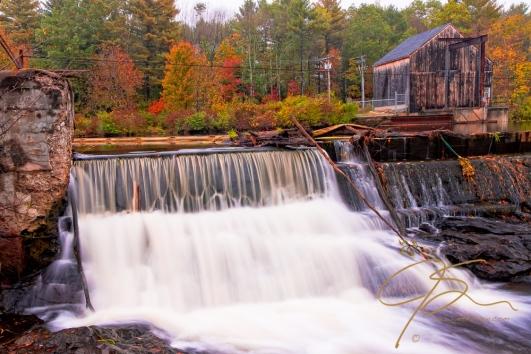 Waterfall, Watson Road, Dover, NH. Fall 2011
