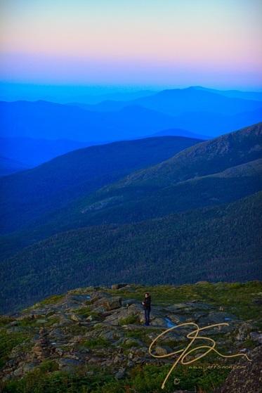 Awaiting Sunrise. Mt Washington, NH
