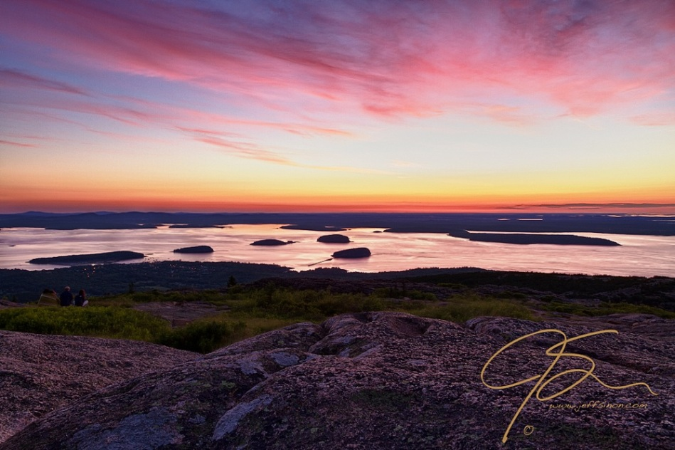 acadia at last cadillac mountain sunrise club. Cars Review. Best American Auto & Cars Review