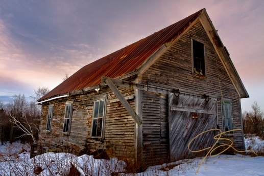 Abandoned Barn, Jefferson, NH