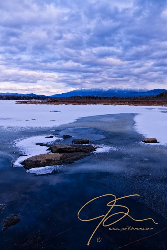 Cherry Pond, Winter.
