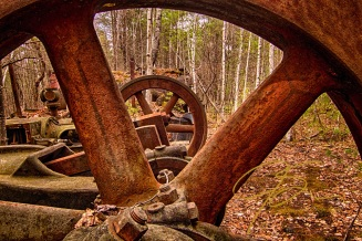 Steam Power. Redstone Quarry, Conway, NH
