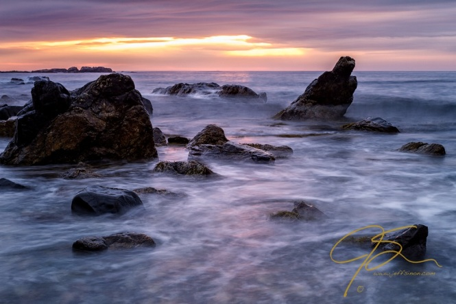 Boulders In The Surf