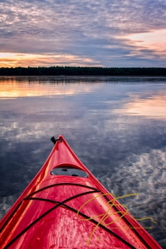 Sunrise In The Kayak