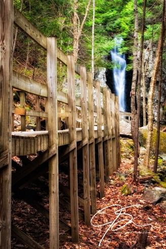 Boardwalk To Song, Falls Of Song, Castle In The Clouds, Moultonboro, NH