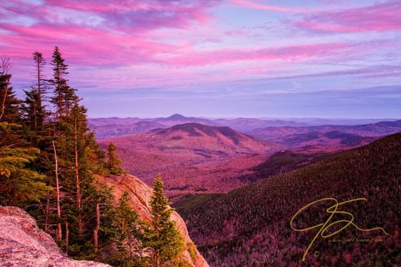 Pastel Evening Light, Stairs Mountain