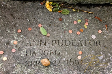 Memorial To Ann Pudeator, Accused Witch