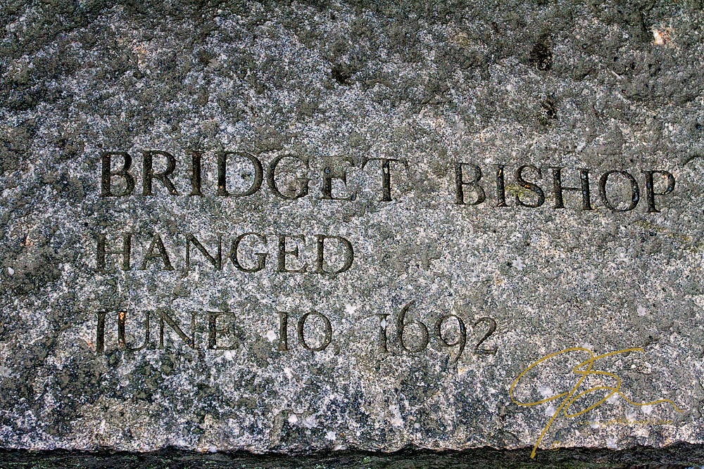 Memorial Of Bridget Bishop