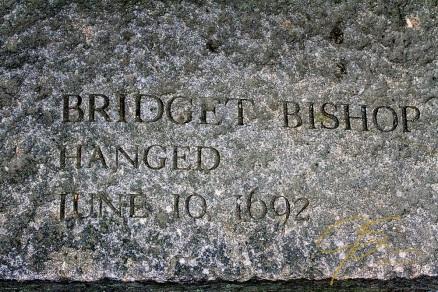 Memorial Of Bridget Bishop