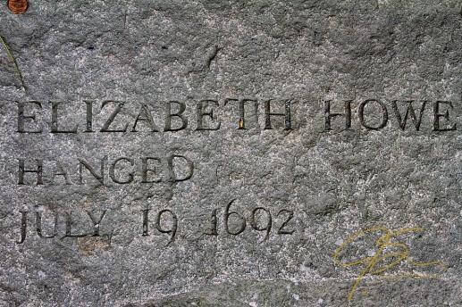 Memorial Of Elizabeth Howe