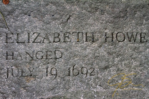 Memorial Of Elizabeth Howe