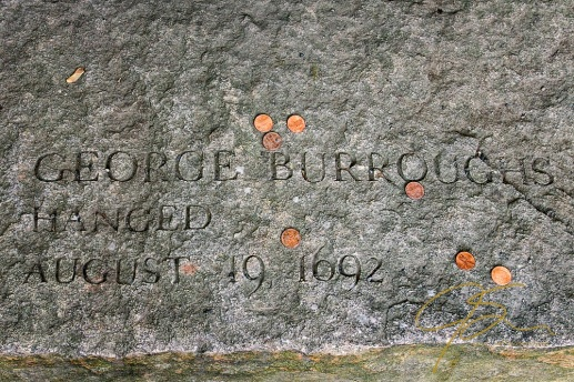 Memorial Of George Burroughs, Accused Witch