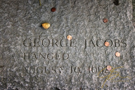 Memorial Of George Jacobs, Accused Witch