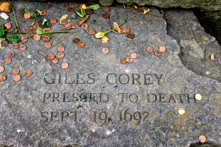 Memorial To Giles Corey, Accused Witch