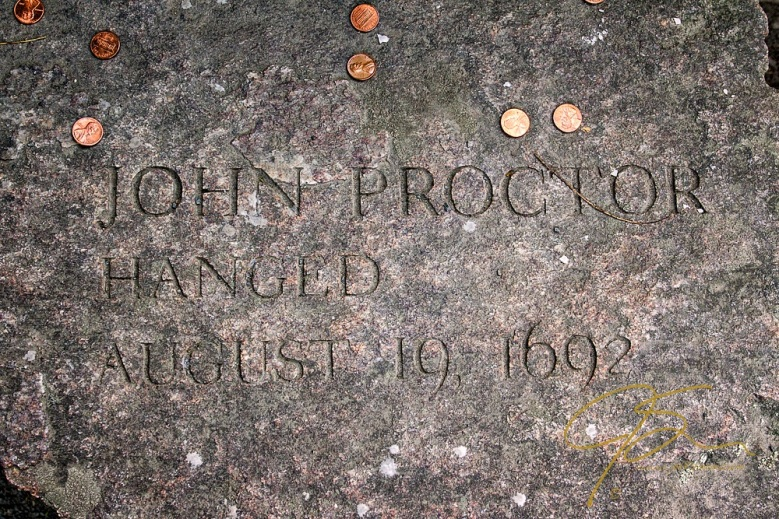 Memorial Of John Proctor, Accused Witch