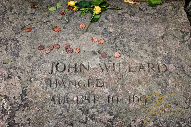 Memorial Of John Willard, Accused Witch