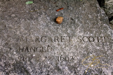 Memorial To Margaret Scott, Accused Witch
