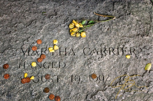 Memorial Of Martha Carrier, Accused Witch