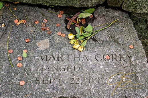 Memorial to Martha Corey, Accused Witch
