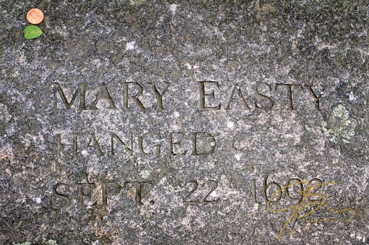 Memorial To Mary Easty, Accused Witch