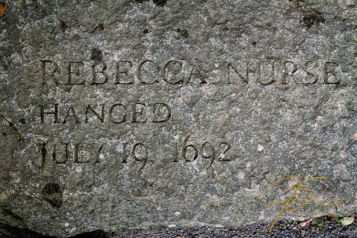 Memorial Of Rebecca Nurse, Accused Witch