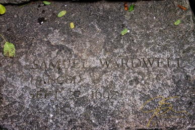 Memorial To Samuel Wardell, Accused Witch
