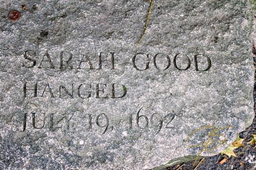 Memorial of Sarah Good