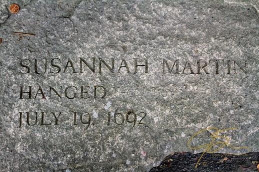 Memorial Of Susannah Martin