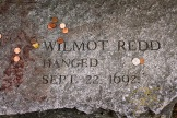 Memorial To Wilmont Redd, Accused Witch