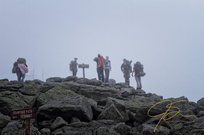 Hikers On The Summit