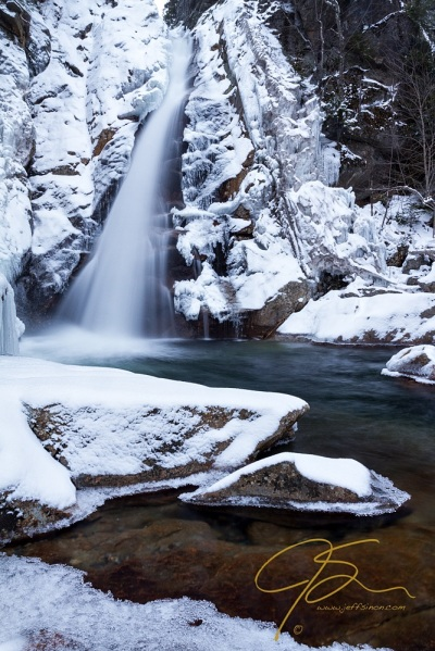 Glen Ellis Falls - Winter Beauty