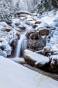 Swiftwater Falls, Winter