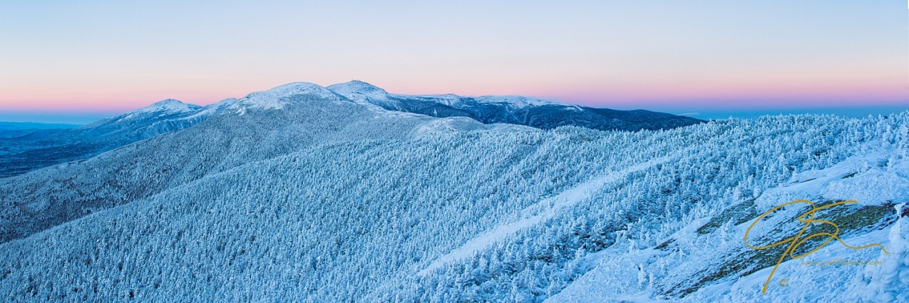 Blue Hour In The Land Of Snow And Ice.