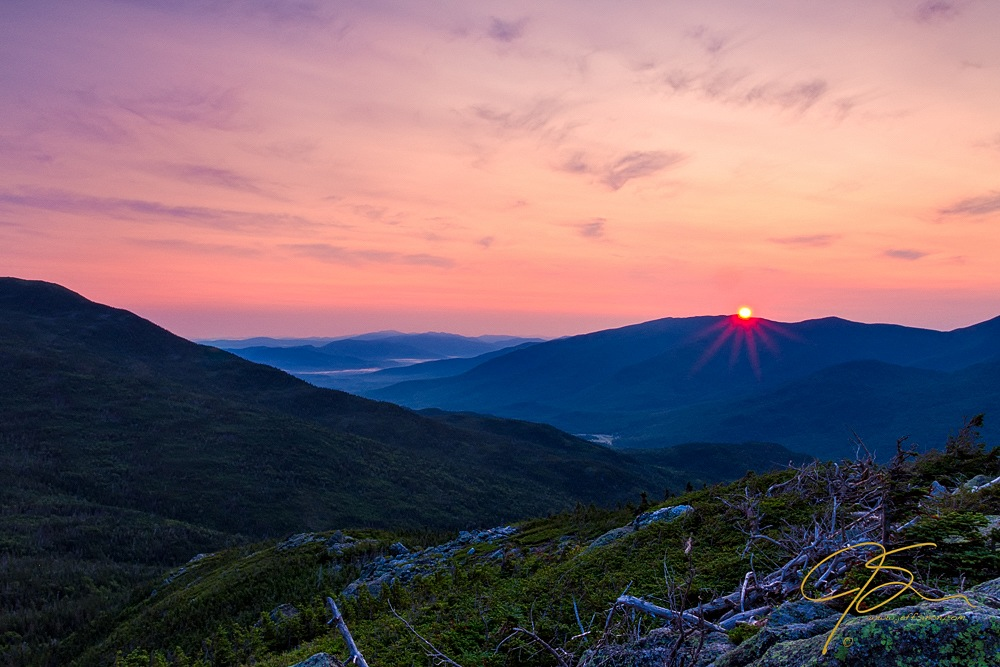 Sunrise On The Boott Spur Trail