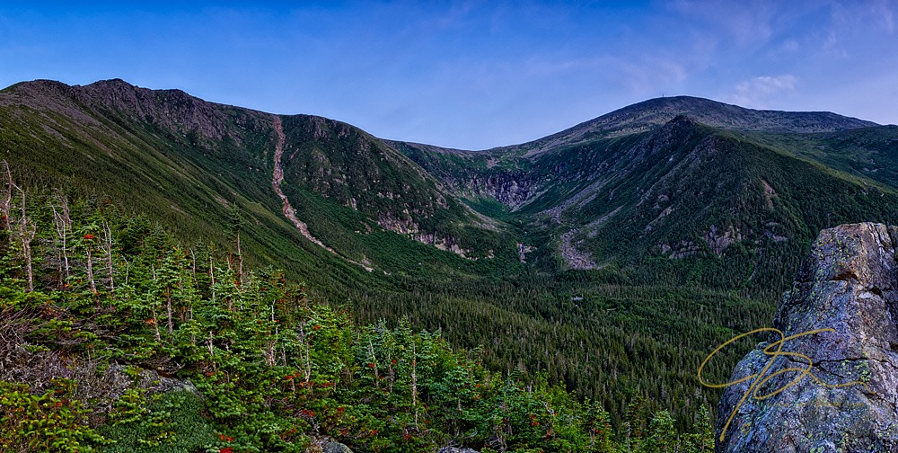 Tuckerman Ravine From Harvard Rock