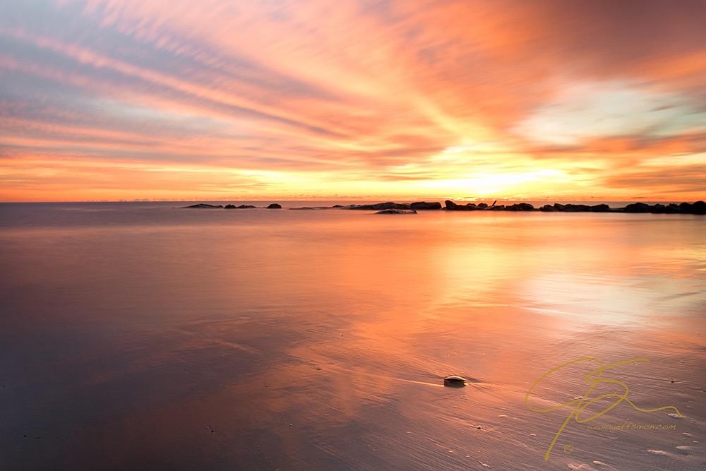 Morning Gold, Hampton Beach, NH