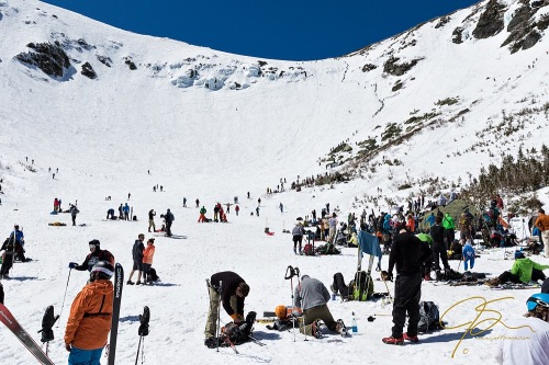 Spring Crowds, Tuckerman Ravine