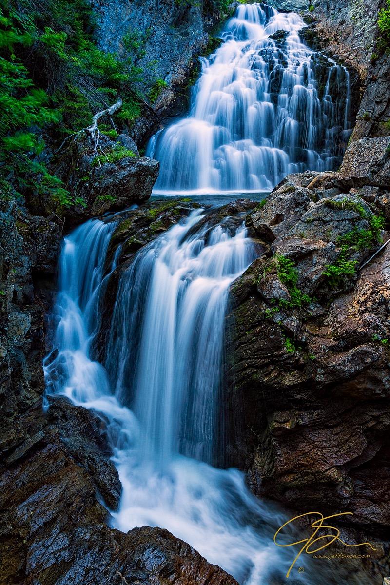 Majestic Fall, Crystal Cascade, Pinkham Notch, NH
