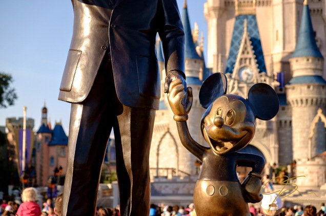 """I only hope we don't lose sight of one thing - it was all started by a mouse"". ~ Walt Disney"