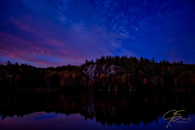 Stonehouse Pond In The Predawn Light