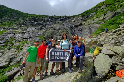 Sum.it for the Forest fund raising hike with Northeast Mountaineering.