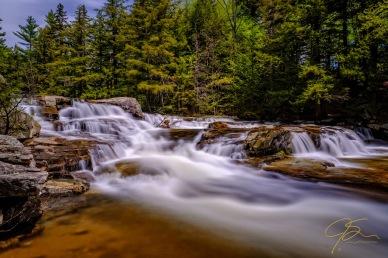 Flow at Jackson Falls.