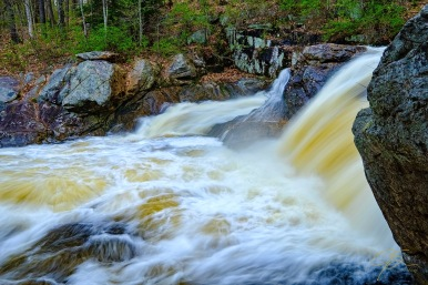 waterfall isinglass river gonic new hampshire