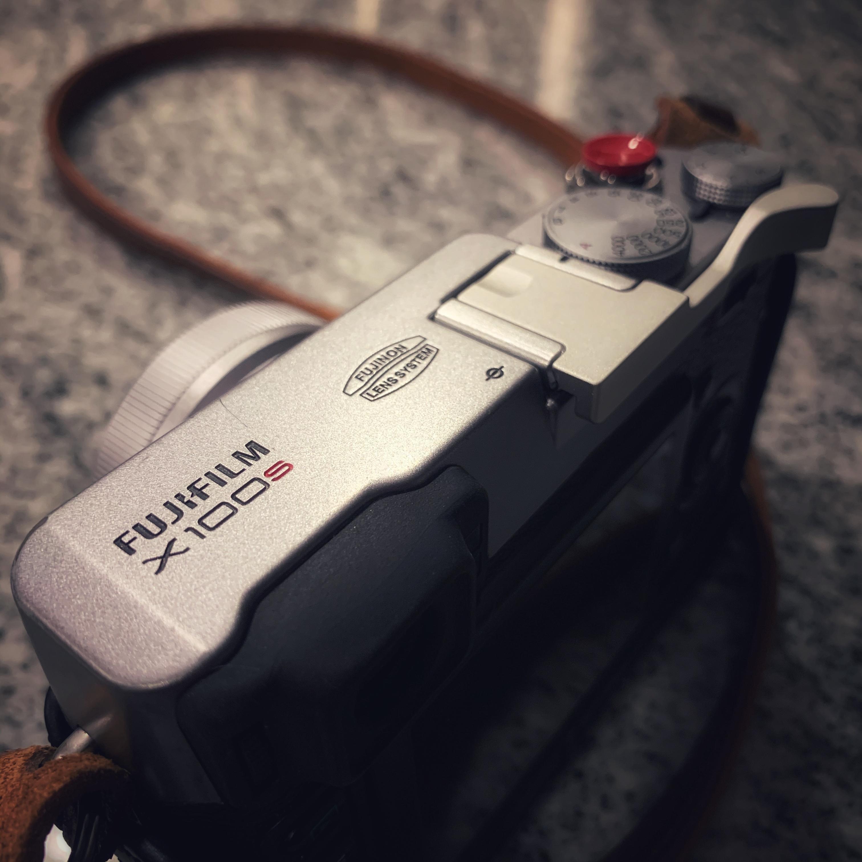 Fujifilm X100S camera.